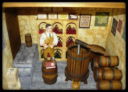vitrine miniature cave vin. Black Bedroom Furniture Sets. Home Design Ideas