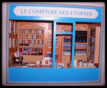 vitrines miniatures parfum